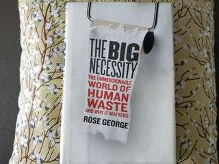 #ENDGAMEyourEXCESS The Big Necessity: The Unmentionable World of Human Waste & Why It Matters #MRTBedok