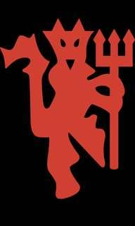 Red Devil Logo [Car Decal / Sticker Vinyl] (Free Mailing!)