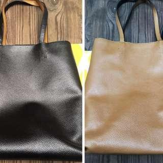 Two Color Tone Bag GRATIS Pouch Cosmetic