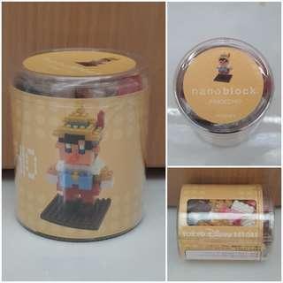BNIB Tokyo Disneyland Resort Pinocchio Nanoblock