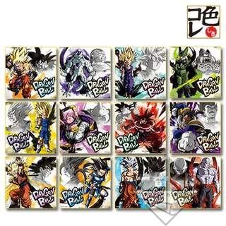 龍珠一番賞色紙battle of world