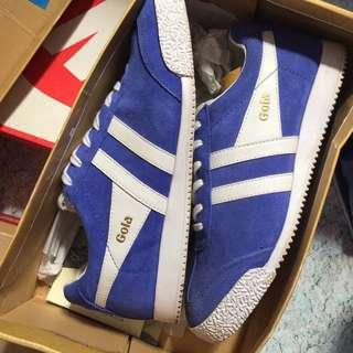Gola Harrier Suede in Blue