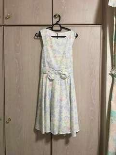 BN Floral Splash Dress