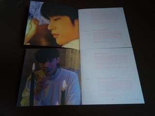 [WTS] Got7 present you and me lyrics booklet