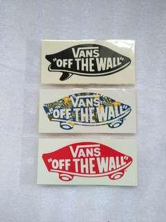 Sticker original vans