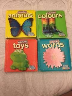 Quick Sale! Baby First's Words (4 books)