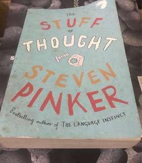 🚚 Give Away: The Stuff of Thought by Steven Pinker