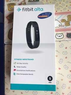全新Fitbit Alta, 黑色 s size