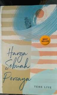 Novel Harga Sebuah Percaya/Kisah Sang Penandai Tere Liye