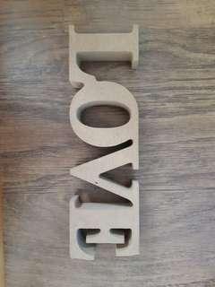 """""""LOVE"""" Deco"""