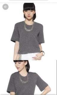 🚚 Love Bonito Eadlin Grey Top