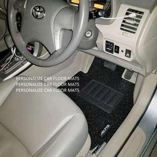 Toyota Altis Car Mat (Instock - Black)