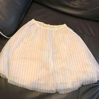 日牌高質直間紗裙 skirt