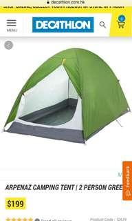 Decathlon tent (used ONCE only full gear no leak)