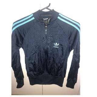 Adidas Women's Navy Superstar Track Jacket 6