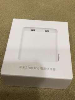 小米 2 Port USB 充電器
