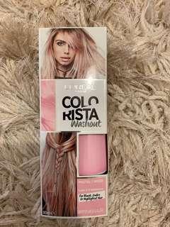 Colorista coral pink dye
