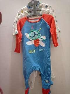 Mothercare sleepsuit0-3 bulan big cut