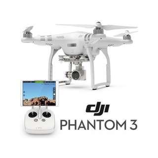 DJI phantom 3 白色advance 版 空拍機 空拍飛行器 全配