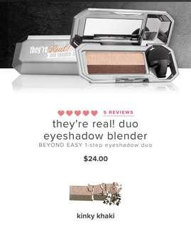 Benefit - They're Real! Duo Shadow Blender (Kinky Khaki)