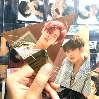 🚚 wts got7 7 for 7 triangle card