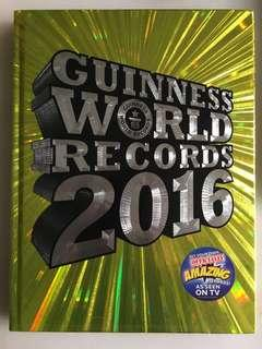 🚚 Guinness World Records 2016 Book