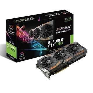 WTT / WTS Asus Geforce GTX 1060 ROG Strix Gaming OC 6GB GPU