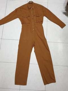 🚚 Brown Jumpsuit