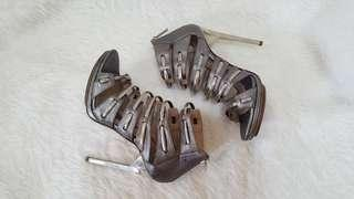 Authentic Herve Leger Gladiator Heels