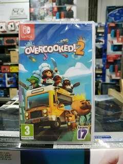 🆕 Nintendo Switch Overcooked 2