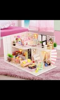 DIY doll house construction kit