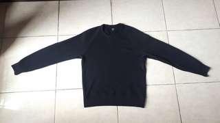 Sweater uniqlo black