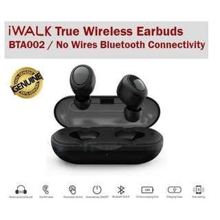 Remax iWALK True Wireless Stereo Earbuds Earpiece Earphones Sports BTA002 Bluetooth