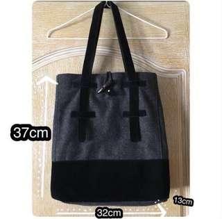 Log-on 灰黑色袋