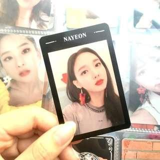 wts twice yes or yes nayeon photocard