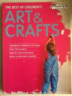 🚚 The Australian Women's Weekly The Best of Children's Art & Crafts