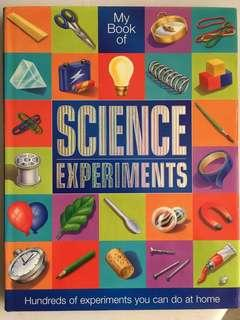 🚚 My Book of Science Experiments Children's Reference Book