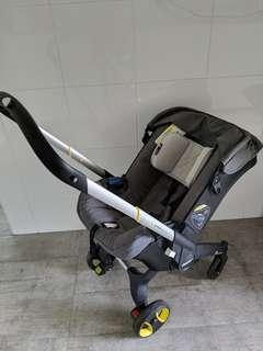 Doona convertible infant car seat stroller