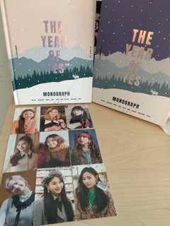Twice TYOY the year of yes monograph 小卡