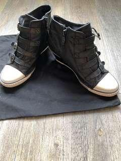 ASH leather Vintage shoes 女裝仿古真皮鞋