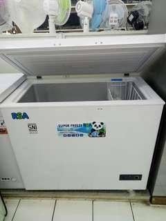 Cicilan 0% tanpa CC tanpa DP chest freezer RSA