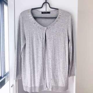 🚚 G2000 灰色針織外套