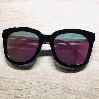 🚚 粉紅水銀墨鏡