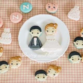 Customise assorted macaroons
