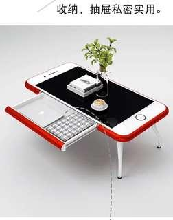 🚚 90%new coolest stylish table coffee table tempered glass