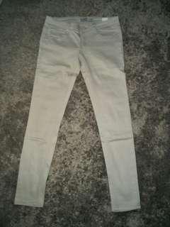 Celana jeans cream buy 1 free 1