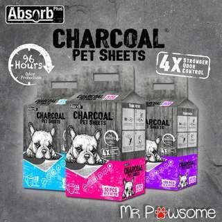 Absorb Plus Charcoal Pet Sheets/ Pee Pad