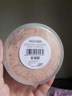 Wardah loose powder - shade 02 beige size 30gr