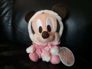 絕版 日本 Sega 2006 Baby Mickey BB米奇 景品公仔