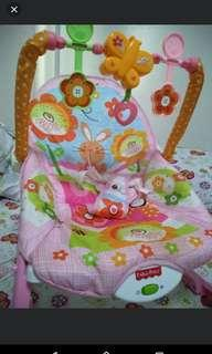 Bundle Baby Clothes + Crib + 3-in-1 Foldable Baby Bed + rocker